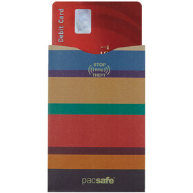 Pacsafe RFIDsleeve 25 Credit Card Sleeve 5 Pack Tropical